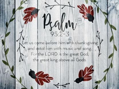 THANKSGIVING ART PSALM STILL