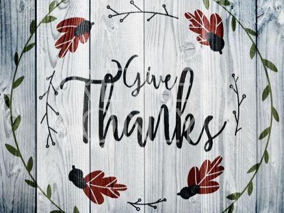 THANKSGIVING ART THANKS STILL