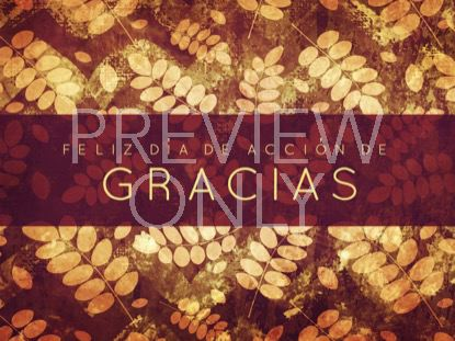 THANKSGIVING GRATITUDE HOLIDAY 1 STILL - SPANISH