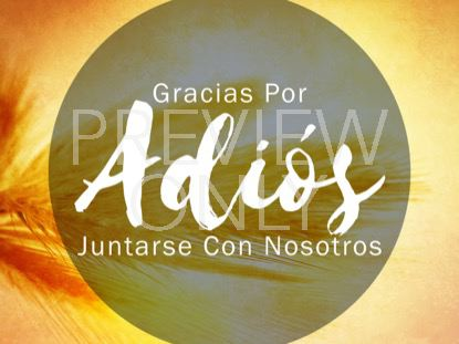 THE GREAT COMMISSION CLOSING STILL - SPANISH