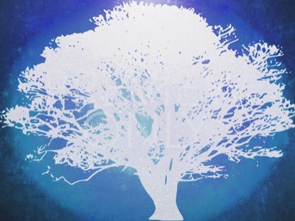 TREE OF LIFE BLUE 2 STILL