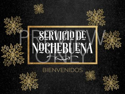 TRENDY CHRISTMAS EVE STILL SPANISH