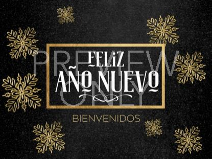 TRENDY CHRISTMAS NEW YEAR STILL  - SPANISH