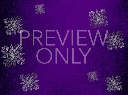 TRENDY CHRISTMAS PURPLE STILL