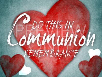 VALENTINES HEARTS COMMUNION STILL
