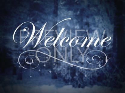 WINTER STORY WELCOME STILL