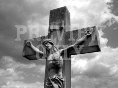 Christ Cross Black & White | Organic Videos | Preaching Today Media