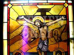 CHRIST CROSS GLASS 6