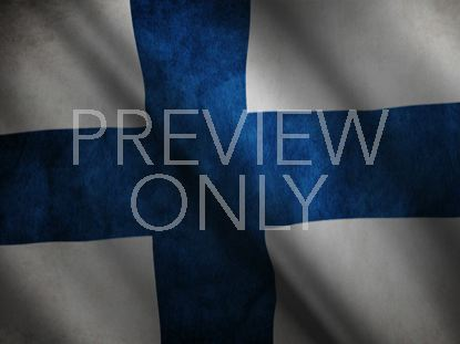 FINLAND FLAG STILL