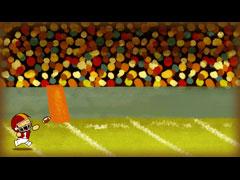 THANKSGIVING ILLUSTRATION - FOOTBALL