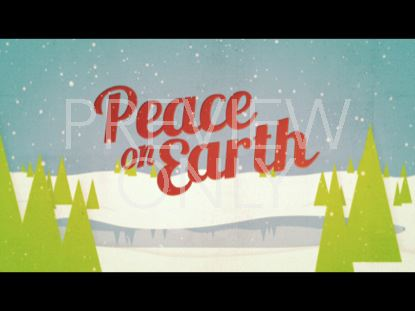 CHRISTMAS WELCOME PEACE ON EARTH STILL