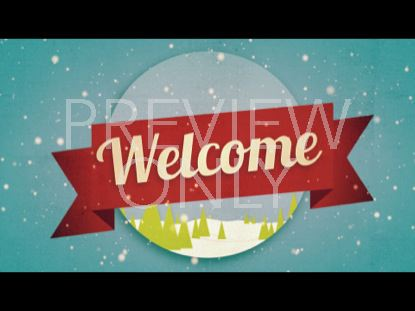 CHRISTMAS WELCOME WELCOME STILL