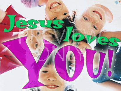 JESUS LOVES YOU 2 STILL