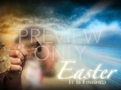 EASTER - IT IS FINISHED TITLE STILL