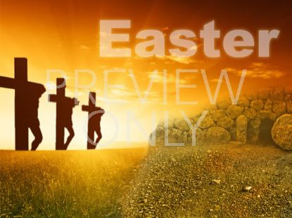 EASTER CROSSES AND TOMB TITLE STILL