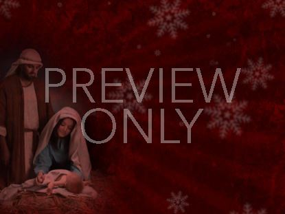 CHRISTMAS NATIVITY STILL 1