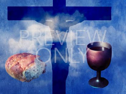 COMMUNION ELEMENTS AND CROSS STILL 1