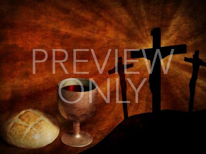 COMMUNION ELEMENTS AND CROSS STILL 2