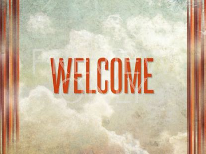 PENTECOST WELCOME STILL