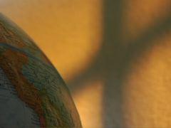 GLOBE AND CROSS