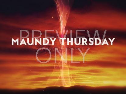HOLY WEEK GLOW MAUNDY THURSDAY STILL