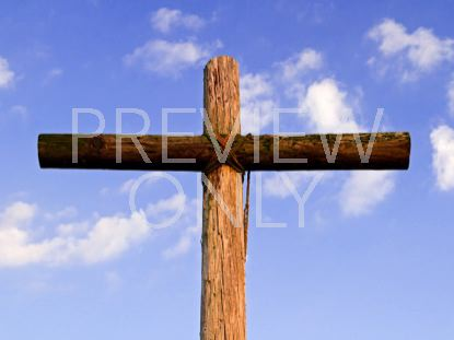 OLD RUGGED CROSS AND CLOUDS