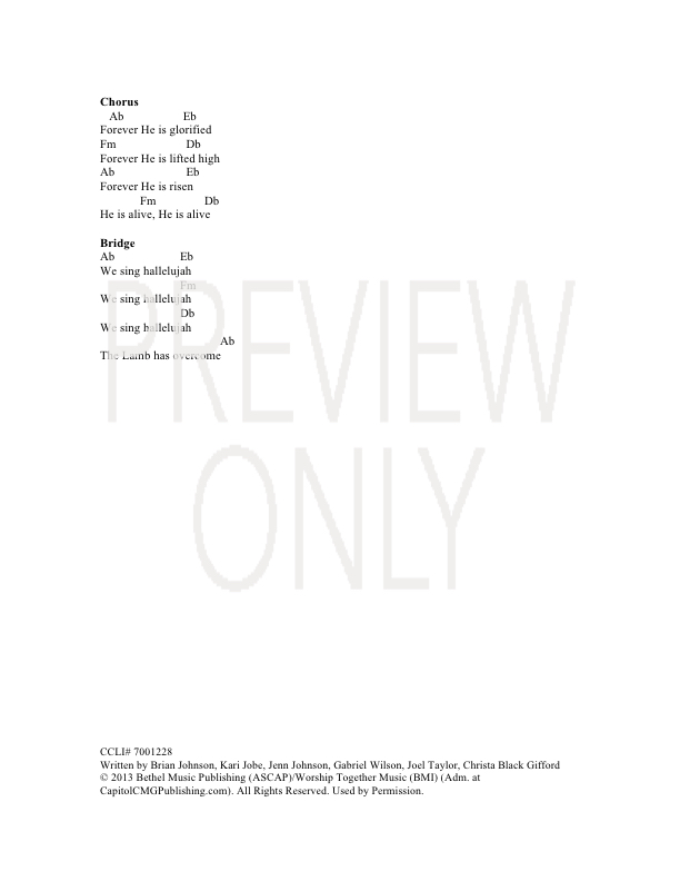 Lyric hallelujah square lyrics : Forever (We Sing Hallelujah) Lead Sheet, Lyrics, & Chords | Bethel ...