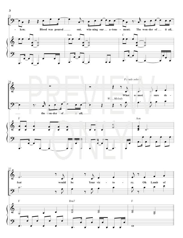 Extravagant Love Lead Sheet, Lyrics, & Chords   Dustin Smith ...