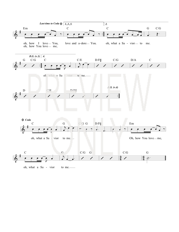 No One Like Jesus Lead Sheet, Lyrics, & Chords | Michael W  Smith