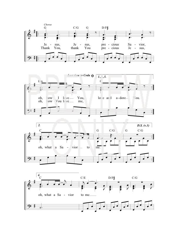 No One Like Jesus Lead Sheet, Lyrics, & Chords | Michael W. Smith ...