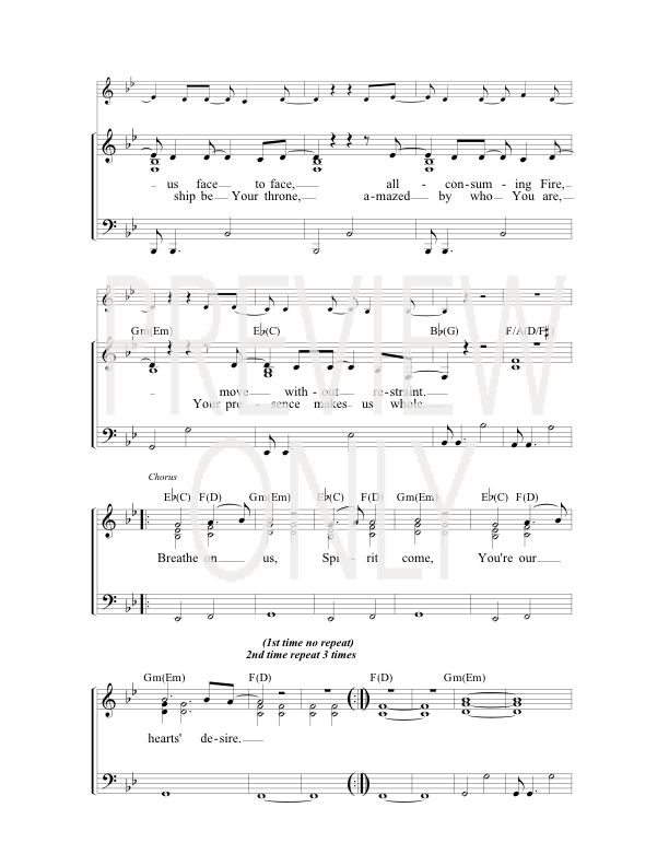open up the heavens chords pdf