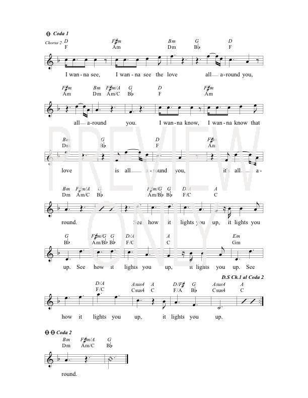 See The Love Lead Sheet, Lyrics, & Chords | The Brilliance ...