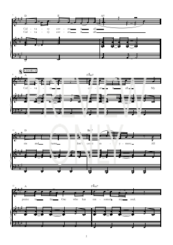 Piano broken vessels piano chords : Calvary Lead Sheet, Lyrics, & Chords | Hillsong | Christian Song ...