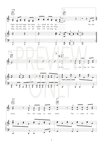 Forever Reign (Hillsong) Lead Sheet, Lyrics, & Chords | Hillsong ...