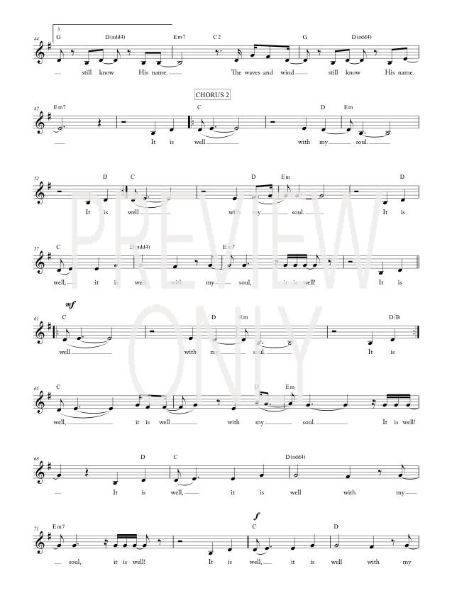Fancy It Is Well Kristene Dimarco Chords Pattern - Guitar Ukulele ...