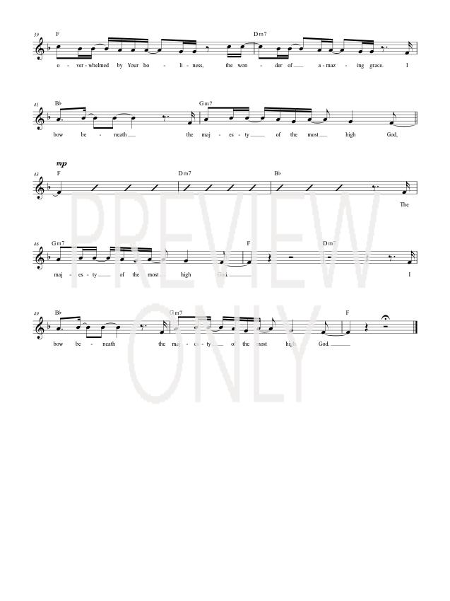 Lyric lyrics to majesty : Majesty Of The Most High Lead Sheet, Lyrics, & Chords   Matt ...