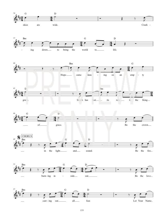 Rule Lead Sheet Lyrics Chords Hillsong United Worshiphouse Media