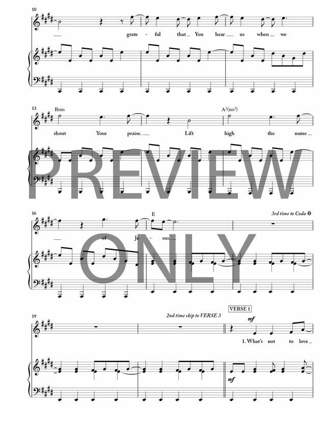 Sing Sing Sing Sheet Music Keninamas