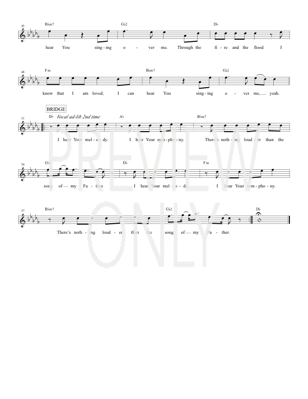Song Of My Father Lead Sheet Lyrics Chords Urban Rescue