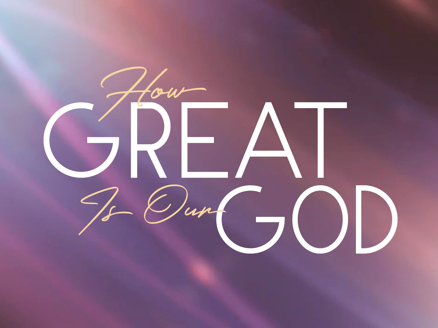 How Great Is Our God Video Worship Song Track with Lyrics