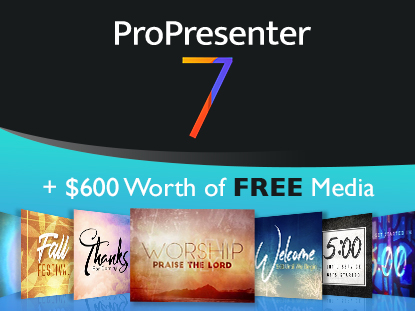 ProPresenter - Get the Top Church Presentation Software